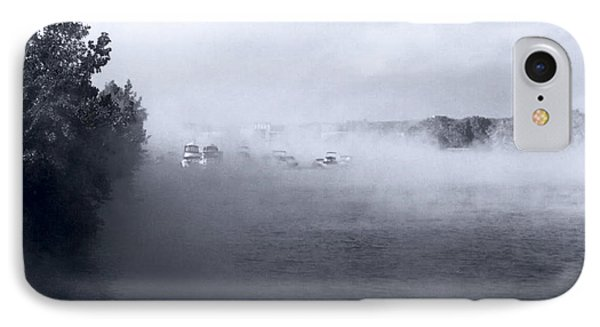 IPhone Case featuring the photograph Morning Fog - Hudson River by John Schneider