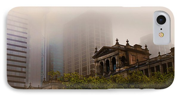 Morning Fog Over The Treasury Phone Case by Susan Vineyard