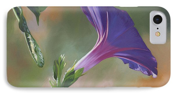 Morning Glory IPhone Case by Alecia Underhill