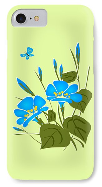 Morning Glory Phone Case by Anastasiya Malakhova
