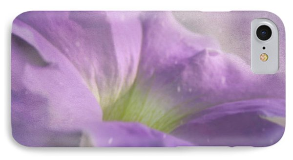 Morning Glory IPhone Case by Ann Lauwers