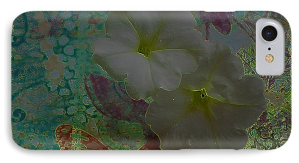 Morning Glory Fantasy IPhone Case by Donna Bentley
