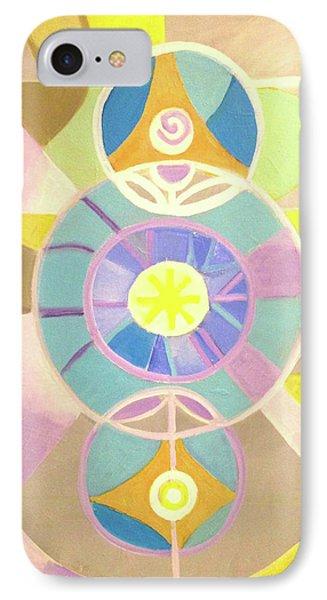 Morning Glory Geometrica IPhone Case