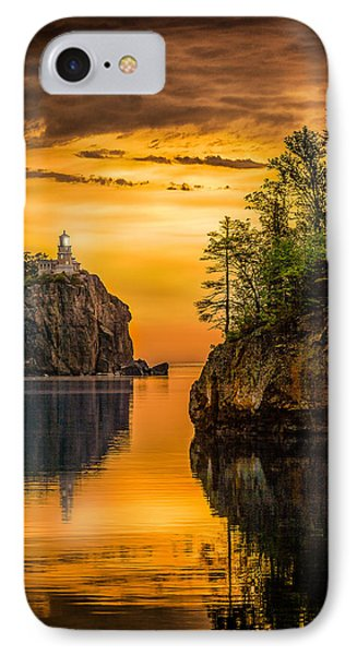 IPhone Case featuring the photograph Morning Glow Against The Light by Rikk Flohr