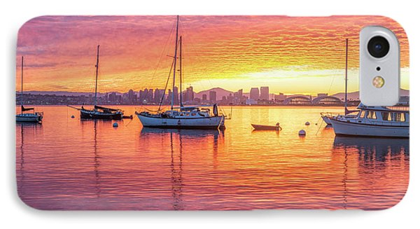 Morning Glow IPhone Case by Joseph S Giacalone