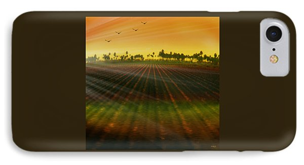 Morning Has Broken Phone Case by Holly Kempe