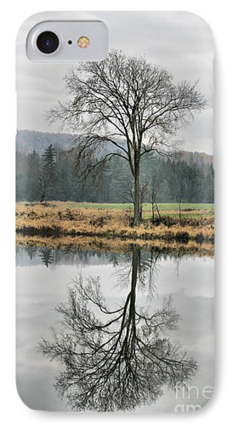 Morning Haze And Reflections Phone Case by Deborah Benoit