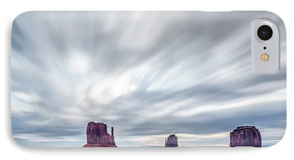 IPhone Case featuring the photograph Morning In Monument Valley by Jon Glaser