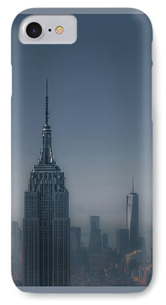 Morning In New York IPhone Case by Chris Fletcher
