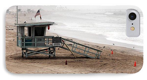 Morning In Santa Monica Phone Case by John Rizzuto