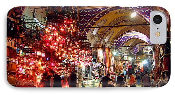 Morning In The Grand Bazaar IPhone Case by Mike Reid