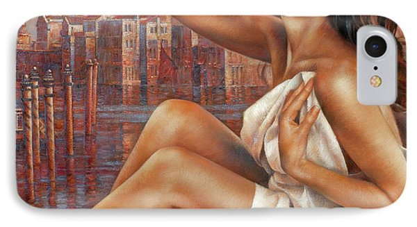 Morning In Venice Phone Case by Arthur Braginsky