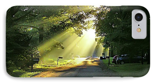 IPhone Case featuring the photograph Morning Light by Brian Wallace