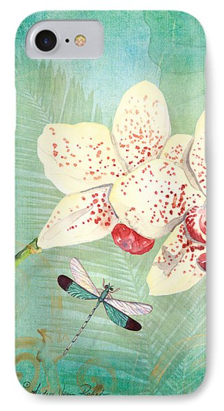 Morning Light - Dancing Dragonflies IPhone Case by Audrey Jeanne Roberts