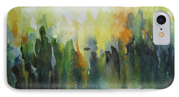 IPhone Case featuring the painting Morning Light by Elena Oleniuc