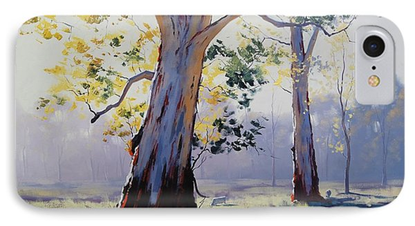 Morning Light Eucalypt IPhone Case by Graham Gercken