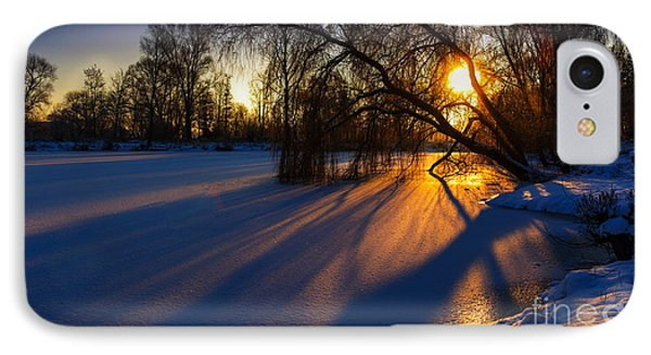 IPhone Case featuring the photograph Morning Light by Franziskus Pfleghart