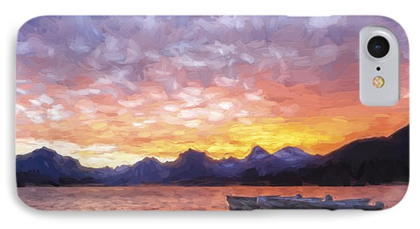 Morning Light Iv IPhone Case by Jon Glaser