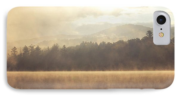 Morning Light Over The Mountains Phone Case by Stephanie McDowell