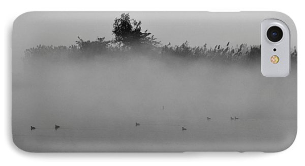 Morning Mist At Wetland Of Harike IPhone Case