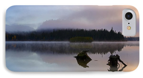 Morning Mist Burning IPhone Case by Mike  Dawson
