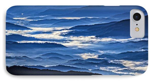 Morning Mist In The Smokies IPhone Case by Rick Berk
