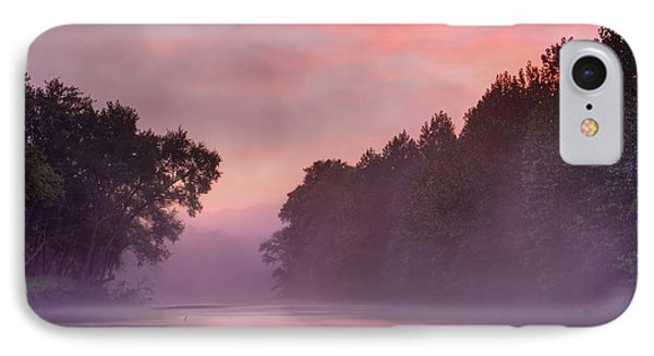 Morning Mist IPhone Case by Robert Charity