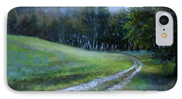 Morning On Blue Mountain Road Phone Case by Susan Jenkins
