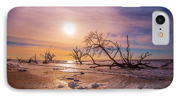 Morning On Boneyard Beach IPhone Case by Steven Ainsworth