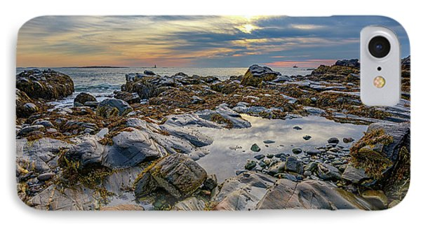 Morning On Casco Bay IPhone Case by Rick Berk