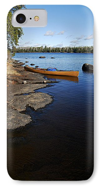 Morning On Hope Lake IPhone Case by Larry Ricker