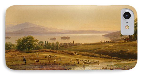 Morning On Lake Maggiore IPhone Case by Thomas Worthington Whittredge