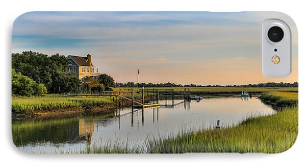 Morning On The Creek - Wild Dunes IPhone Case