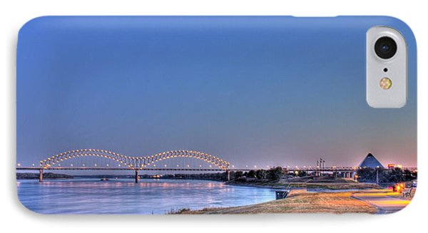 Morning On The Mississippi IPhone Case by Barry Jones