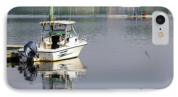 IPhone Case featuring the photograph Morning On The Navesink River 2 by Gary Slawsky