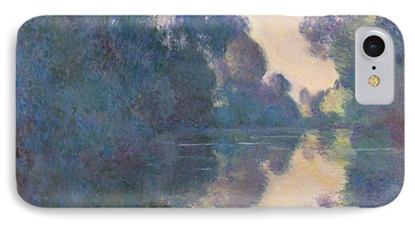Morning On The Seine Near Giverny, 1897 IPhone Case