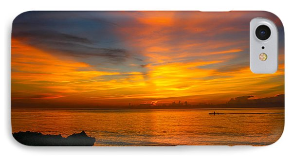 Morning On The Water IPhone Case