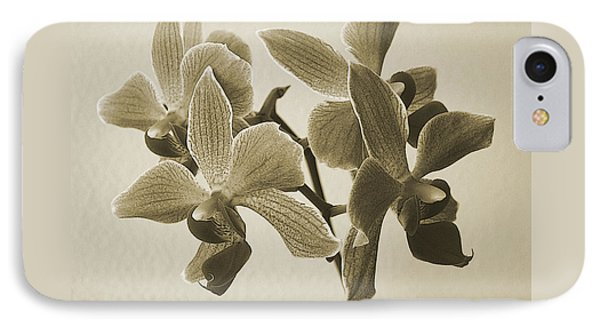 Morning Orchid Phone Case by Ben and Raisa Gertsberg