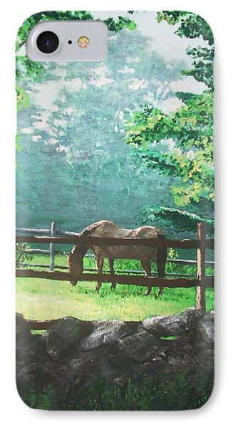 Morning Pasture Phone Case by Jack Skinner