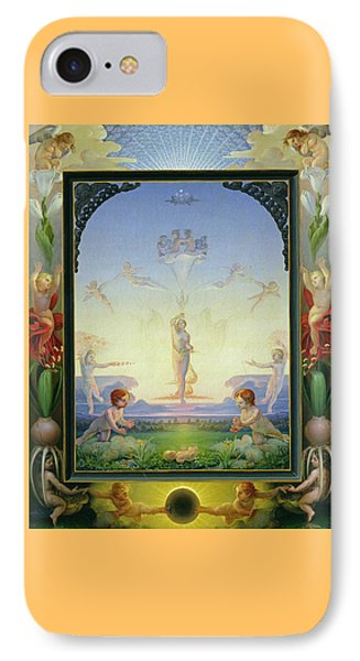 Morning IPhone Case by Philipp Otto Runge