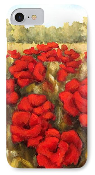 Morning Poppies IPhone Case by Inese Poga