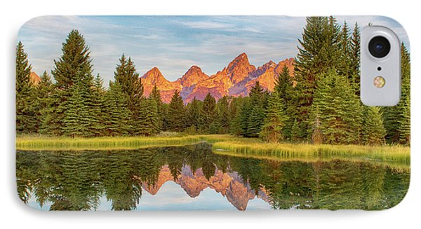 IPhone Case featuring the photograph Morning Reflections by Mary Hone