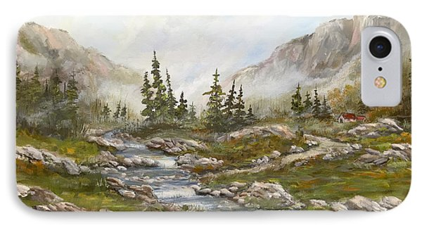 Morning Rising Fog IPhone Case by Dorothy Maier