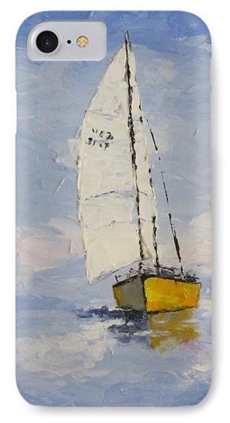 Morning Sail IPhone Case by Anita Ann Johnson