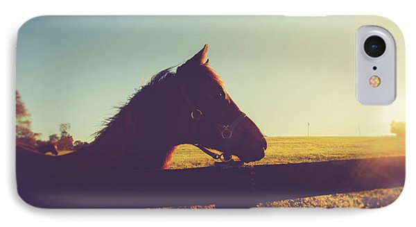 IPhone Case featuring the photograph Morning  by Shane Holsclaw