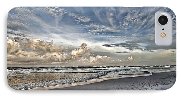 Morning Sky At The Beach IPhone Case