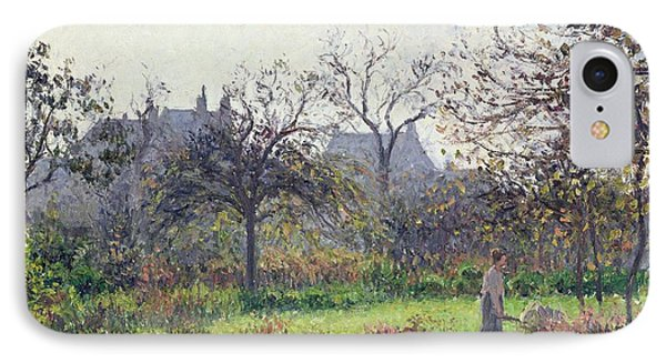Morning Sun Phone Case by Camille Pissarro