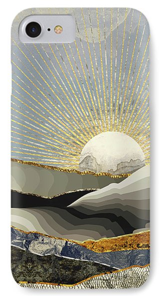 Landscapes iPhone 7 Case - Morning Sun by Katherine Smit