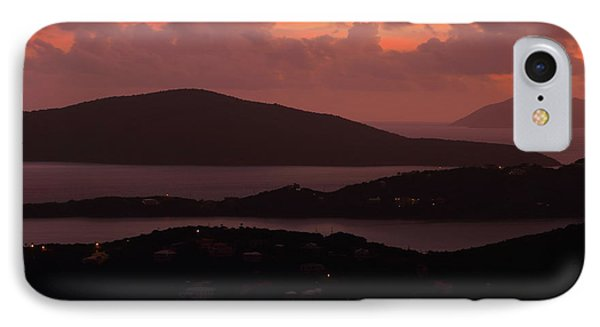 IPhone Case featuring the photograph Morning Sunrise From St. Thomas In The U.s. Virgin Islands by Jetson Nguyen