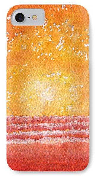 Morning Surf Original Painting IPhone Case